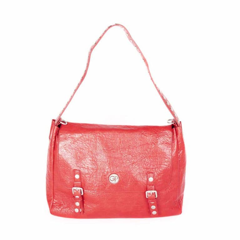 Sac rabat rouge pour femme GRUNGE 02 - GIRLS POWER