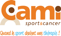 Logo association Cami Sport et Cancer sur le site Girls Power afin de les soutenir